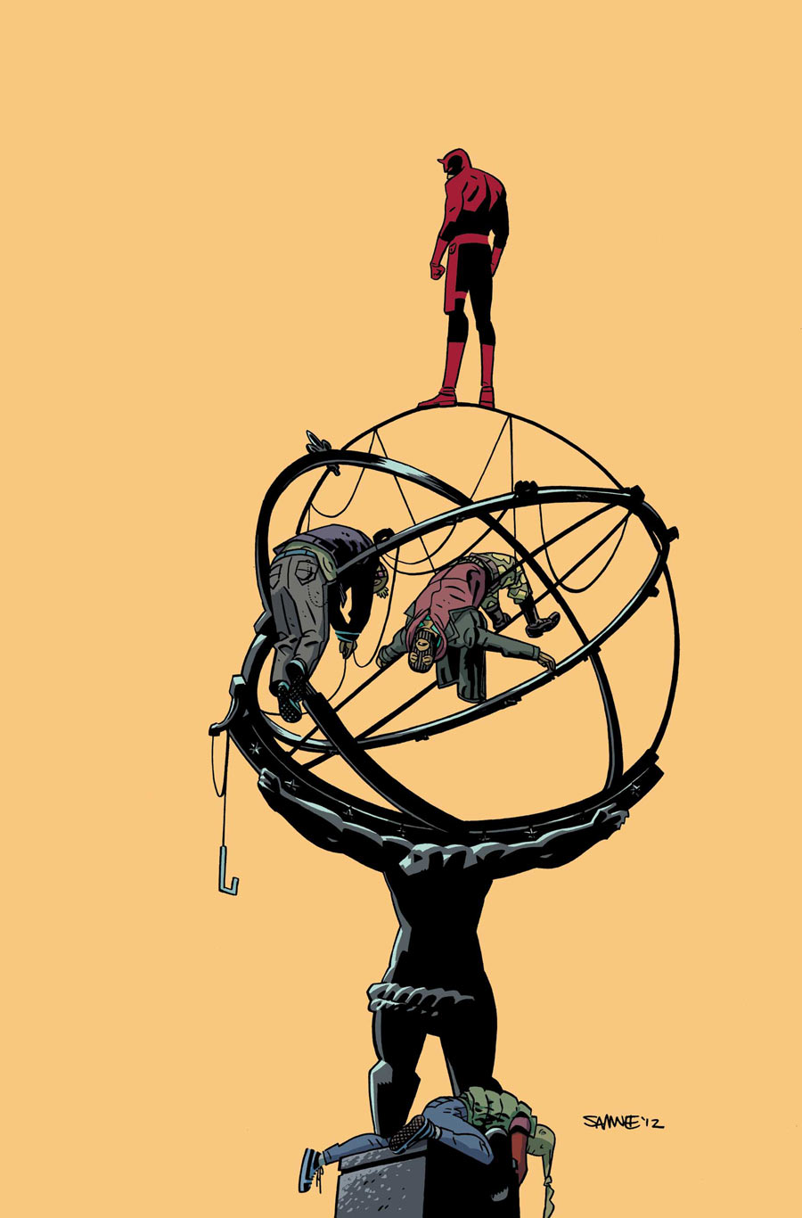 Daredevil #24 cover, by Chris Samnee and Javíer Rodríguez