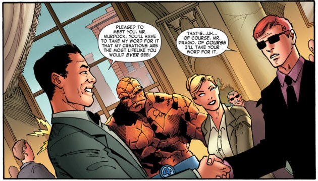 At the wax museum, from Daredevil: Season One, by Antony Johnston and Wellinton Alves
