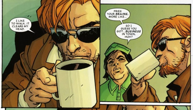 Matt from Daredevil: Reborn #1, by Andy Diggle and Davide Gianfelice