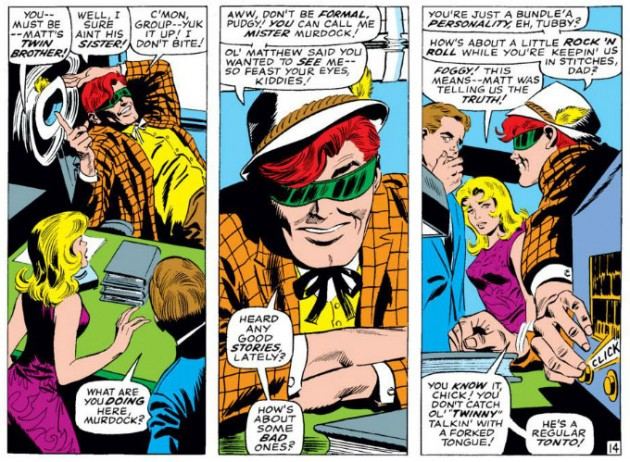 Mike Murdock, as seen in Daredevil #25, by Stan Lee and Gene Colan