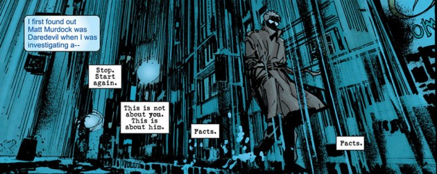 Ben Urich, as seen in Daredevil: End of Days #1, by Bendis, Mack, Janson and Sienkiewicz