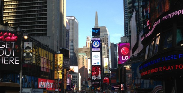 Times Square, my photo