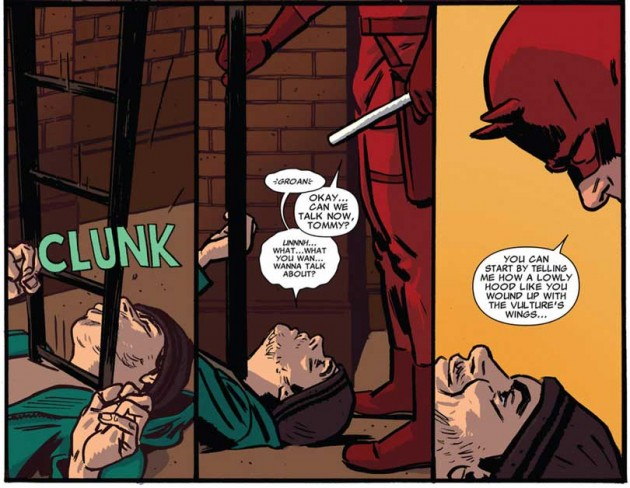Panels from X-Men #38, by Seth Peck and Paul Azaceta