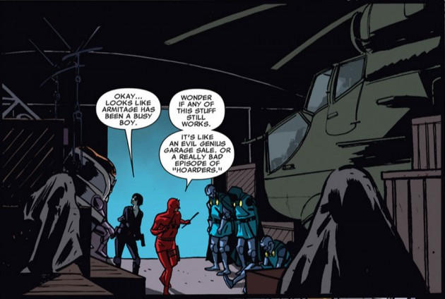 Daredevil references Hoarders in X-Men #39, by Seth Peck, Paul Azaceta and Matthew Southworth