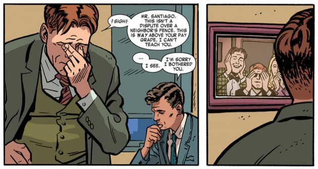 Photo of Nelson & Murdock, from Daredevil #18 by Mark Waid and Chris Samnee