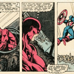 A Daredevil team-up with Captain America (from 1979)!
