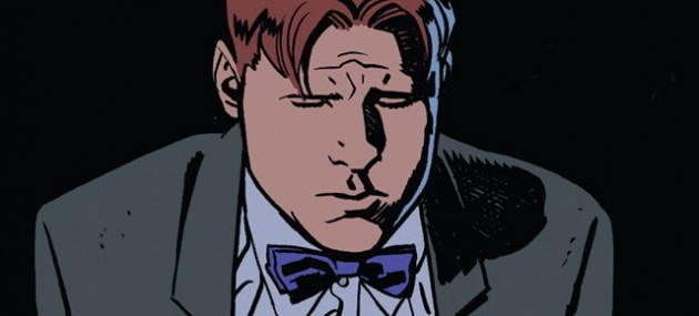 Sad panel of Foggy, from Daredevil #22 by Mark Waid and Chris Samnee