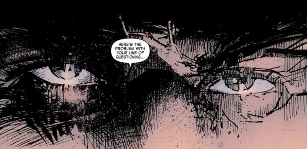 Frank Caste, as seen in Daredevil: End of Days #4, by Brian Bendis, David Mack and Klaus Janson