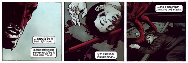 Daredevil has the flu, Daredevil Annual (2007)