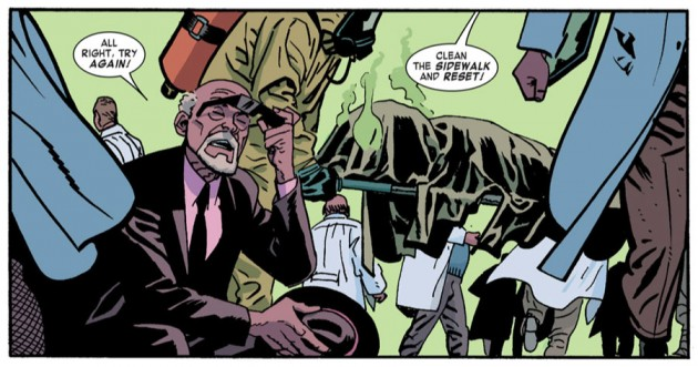 Failed experiment, from Daredevil #23 by Mark Waid and Chris Samnee