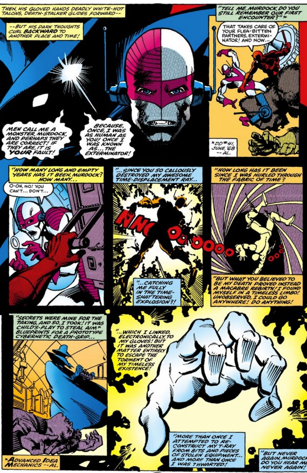 Death-Stalker, from Daredevil #158, by Roger McKenzie and Frank Miller