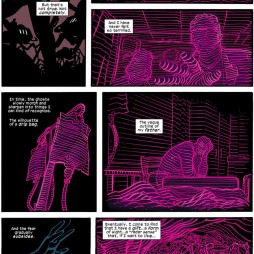 Young Matt's radar comes into focus, as seen in Daredevil #16, art by Chris Samnee