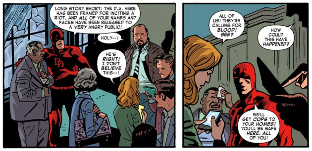 I make a cameo appearance in Daredevil #31 (vol 3), by Mark Waid and Chris Samnee