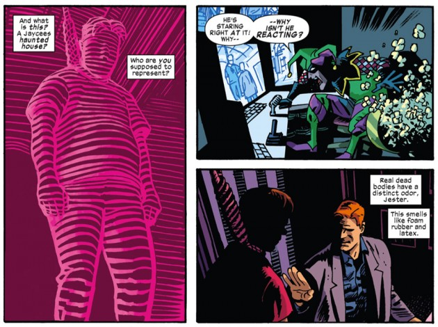 Matt walks into the Jester's trap, Daredevil #32 by Mark Waid and Chris Samnee