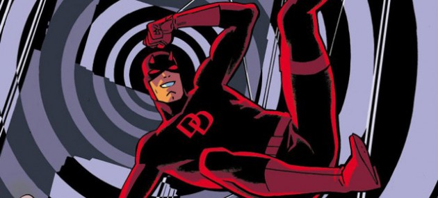 Part of the cover to the new Daredevil #1, by Chris Samnee