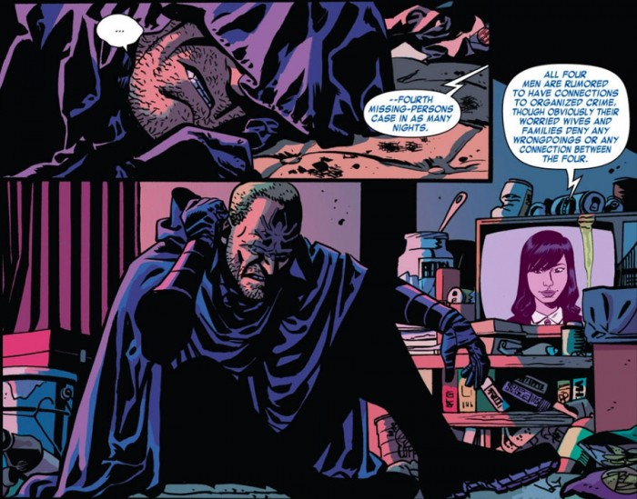 The Shroud makes an appearance, as seen in Daredevil #2 by Mark Waid and Chris Samnee