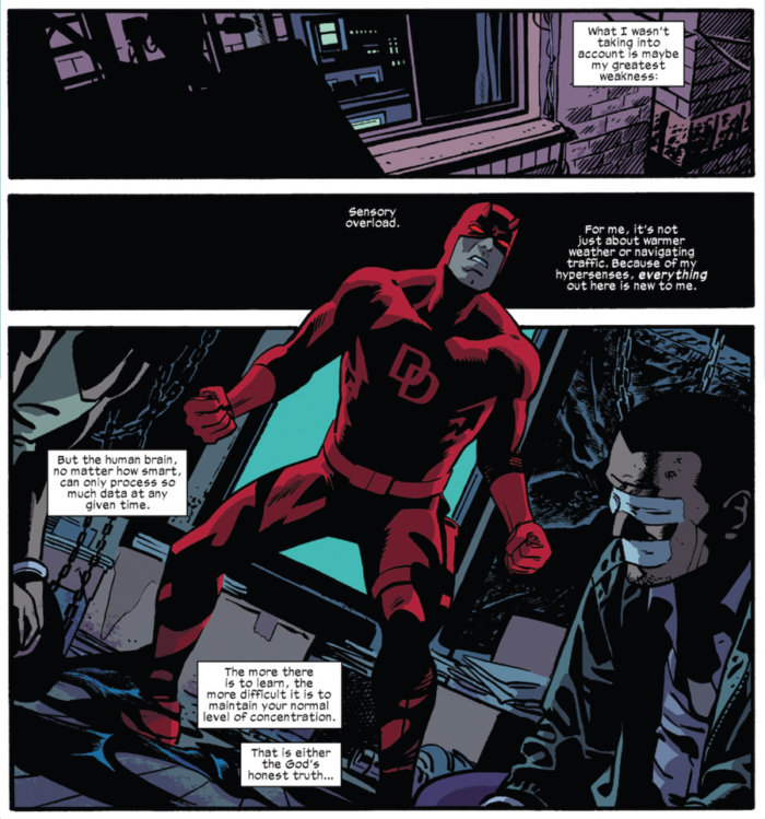 From Daredevil #3, by Mark Waid and Chris Samnee