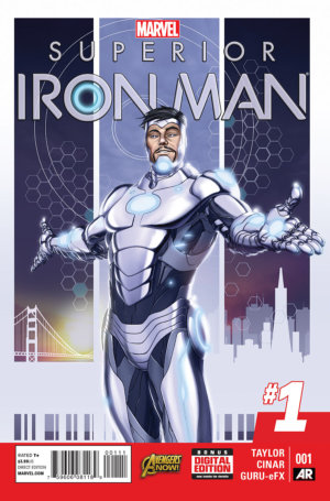 Cover to Superior Iron Man #4