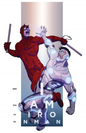 Cover to Superior Iron Man #2