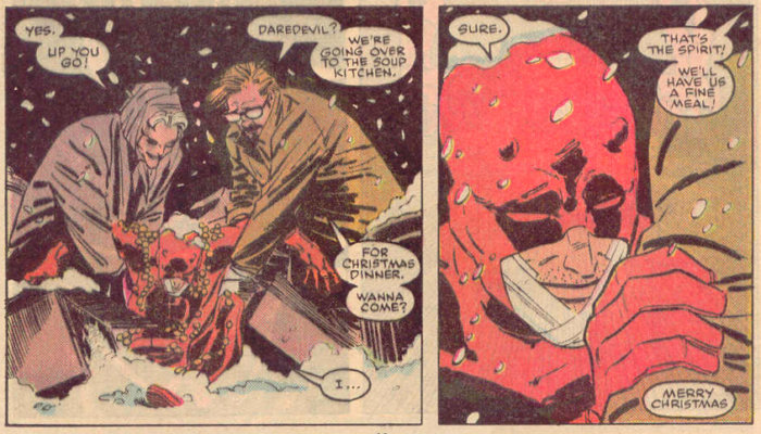 Daredevil in Daredevil #266 by Ann Nocenti and John Romita Jr
