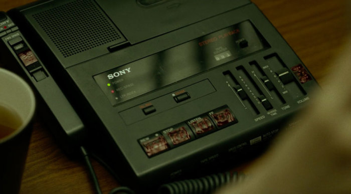 Matt's dictaphone, as seen in season one, episode one of Marvel's Daredevil