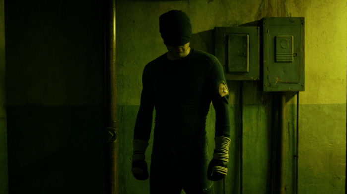 Matt prepares to take out every single bad guy that stand between him and saving a young boy. From episode two of Marvel's Daredevil.