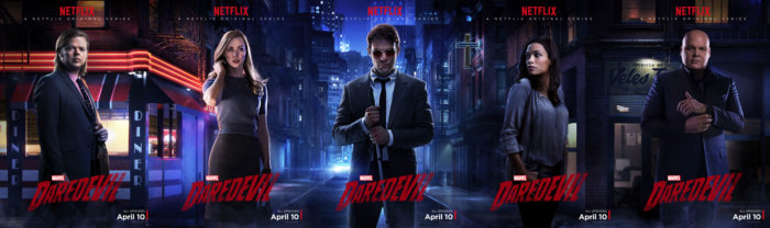 Horizontal character poster from Daredevil on Netflix