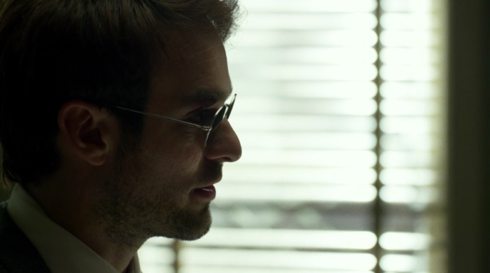Matt talking to Foggy and Karen, as seen in episode eight of Marvel's Daredevil on Netflix