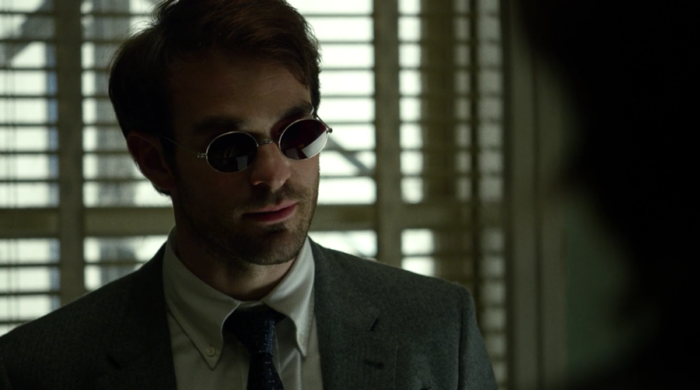Matt in his office, from episode eight of Marvel's Daredevil on Netflix