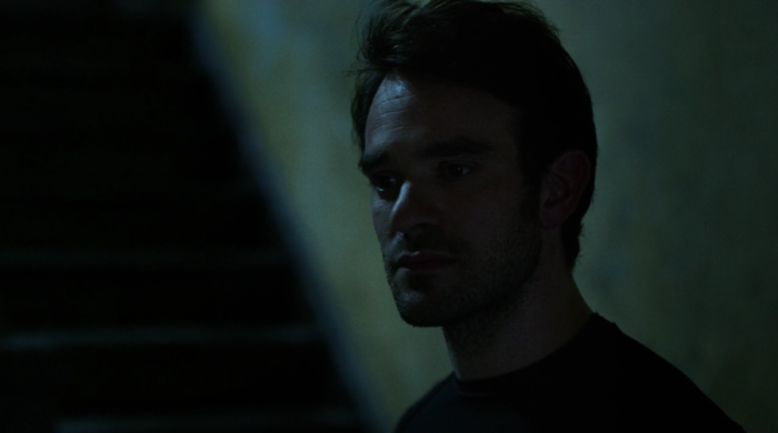 Matt getting ready to go after the Russians, as seen in episode five of Marvel's Daredevil on Netflix