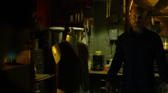 Melvin Potter in his workshop, as seen in episode eleven of Marvel's Daredevil on Netflix