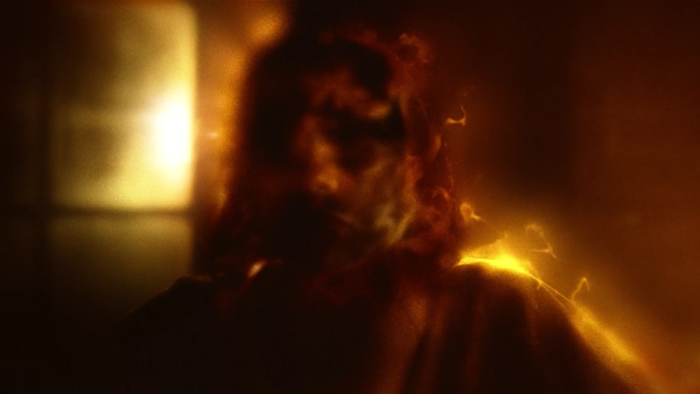 The world on fire effect, from episode five of Marvel's Daredevil on Netflix