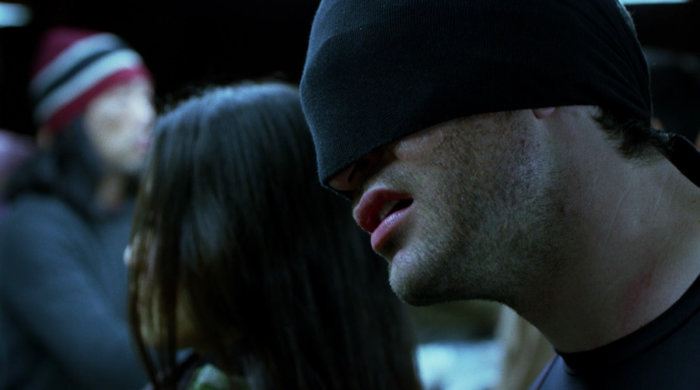 Matt inspects the blind workers, as seen in season one, episode 12 of Marvel's Daredevil