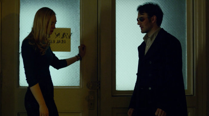 Matt meets Karen at the office, as seen in episode twelve of Marvel's Daredevil on Netflix