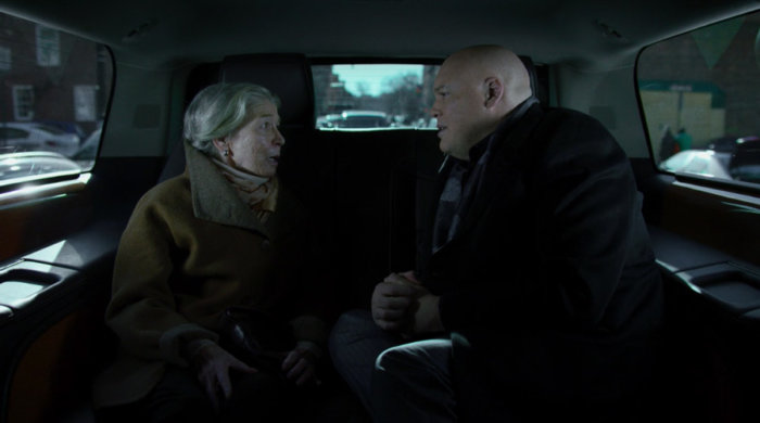 Wilson Fisk and his mother Marlene, as seen in episode twelve of Marvel's Daredevil on Netflix
