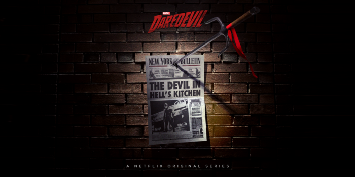Official Elektra promo art for season two of Marvel's Daredevil on Netflix
