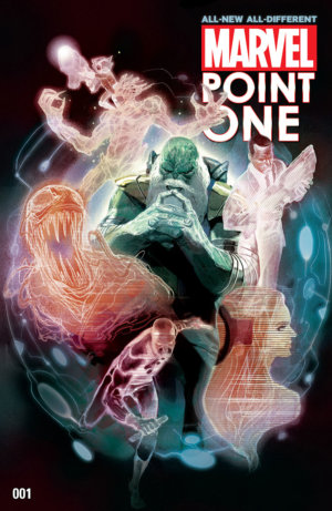 The cover to  All-New, All-Different  Point One, by Mike Del Mundo