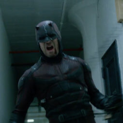 Daredevil screaming in rage, as seen in the trailer to Daredevil season 2.