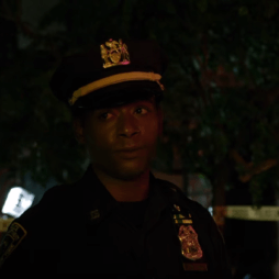 Sgt. Brett Mahoney talking to Matt and Foggy, as seen in the trailer for Daredevil season two