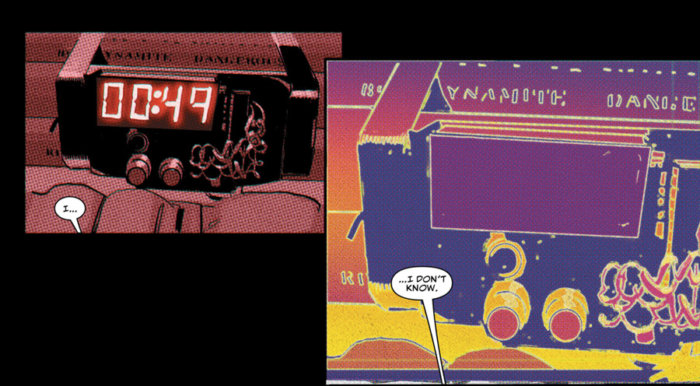 Most bizarre radar sense ever, as seen in Daredevil #4 by Charles Soule, Ron Garney and Goran Sudžuka