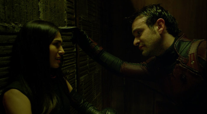 Matt's final conversation with Elektra, as seen in episode 13 of Daredevil season 2