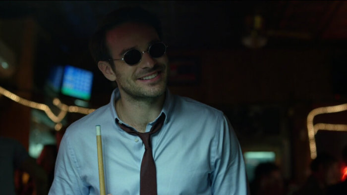 Matt at Josie's, as seen in episode one of Daredevil, season two