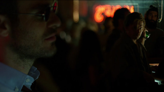 Matt notices Grotto, as seen in episode one of Daredevil, season two