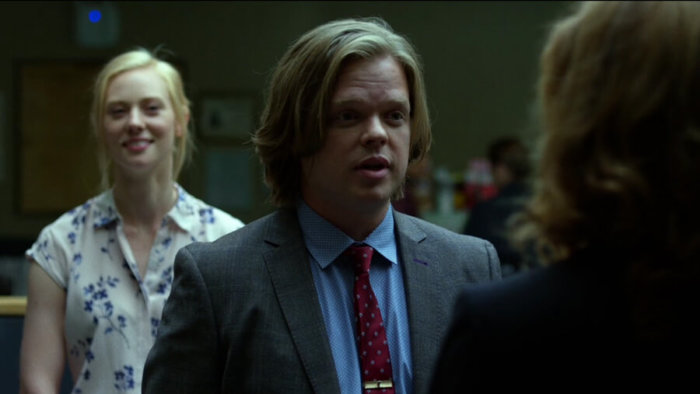 Karen admires Foggy's lawyering skills, as seen in episode two of Daredevil, season two