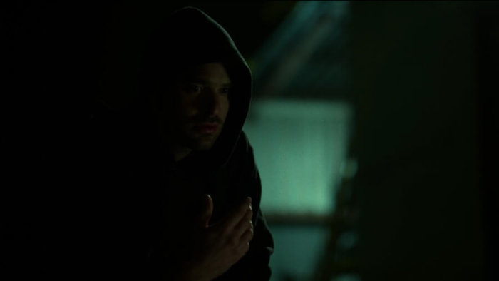Matt tracks a scent, as seen in episode two of Daredevil, season two