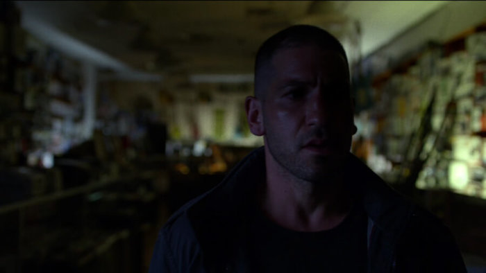 Frank Castle doesn't like child pornography, as seen in episode two of Daredevil, season two