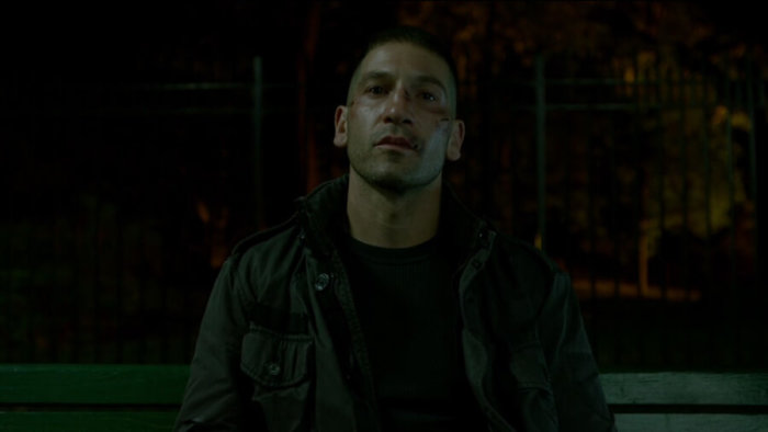 Frank is waiting for the Irish to show up, as seen in episode four of Daredevil, season two