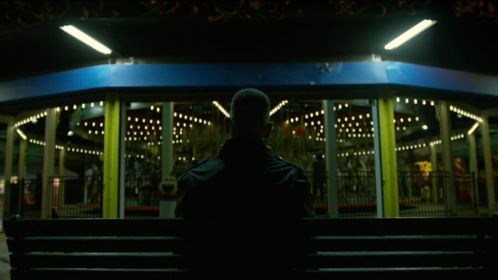 Frank at the merry-go-round, as seen in episode four of Daredevil, season two