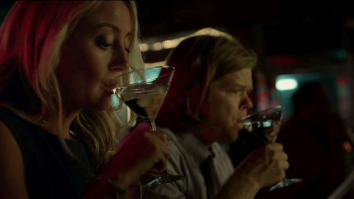 Foggy and Marci having drinks, as seen in episode five of Daredevil, season two