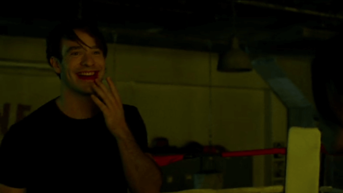 Matt fights Elektra, as seen in episode five of Daredevil, season two